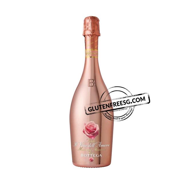 Bottega IlVino Dell'Amore Petalo Manzoni Moscato Rose