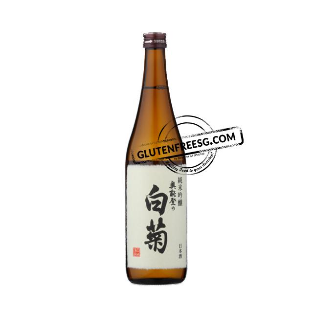 HakutoOkunoto no Shiragiku Junmai Ginjyo Sake