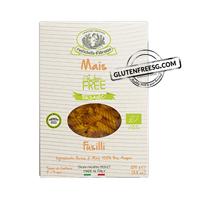 Rustichella 100% Corn Fusilli (Organic)