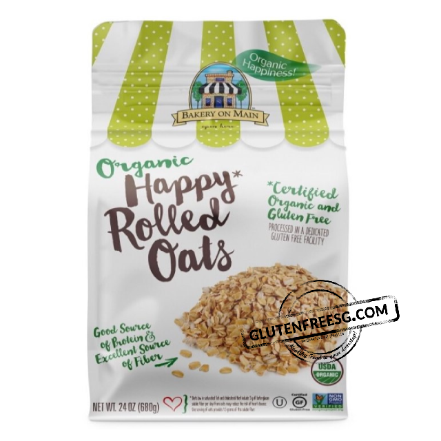 Bakery on Main Organic Happy Rolled Oats 680g