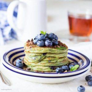 Sweet Green Pancakes