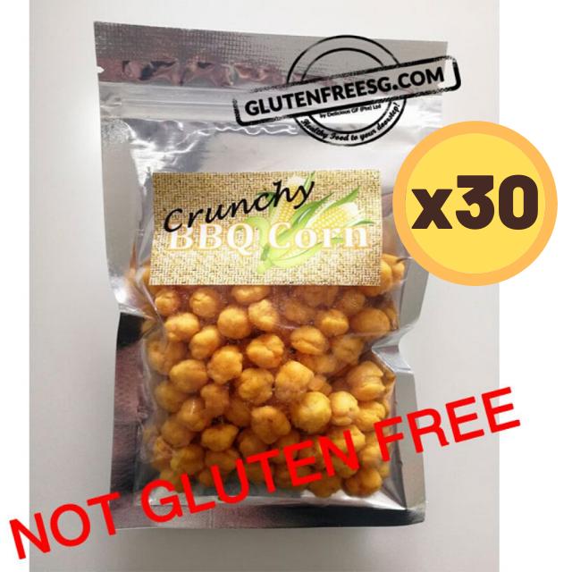 Crunchy BBQ Corn