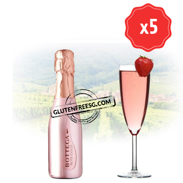Bottega Rose Gold Pinot Nero Mini 200ml