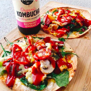 Healthy Pizza on the Go!