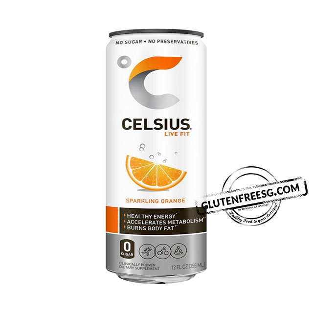 Celsius Sparkling Orange Fitness Drink