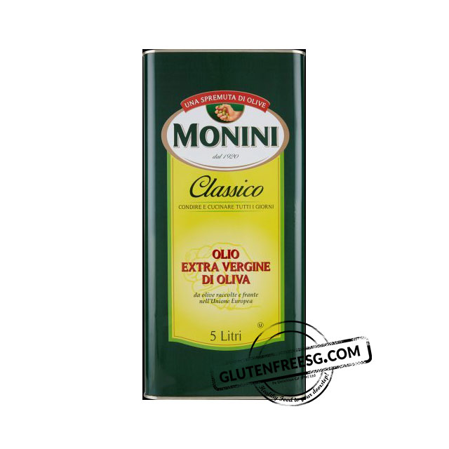Monini Extra Virgin Olive Oil 5 Litres