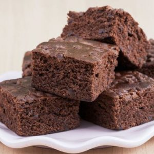 Gluten Free Fudgy Chocolate Brownie