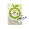 macro white chia seeds
