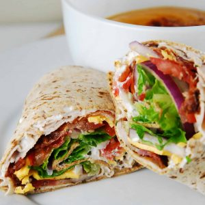 TURKEY & SALAD WONDER WRAP