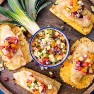 Grilled Fish with Spicy Pineapple Salsa