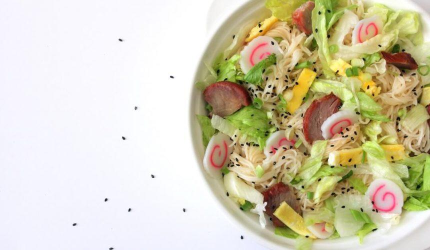 Hawaiian Somen Salad