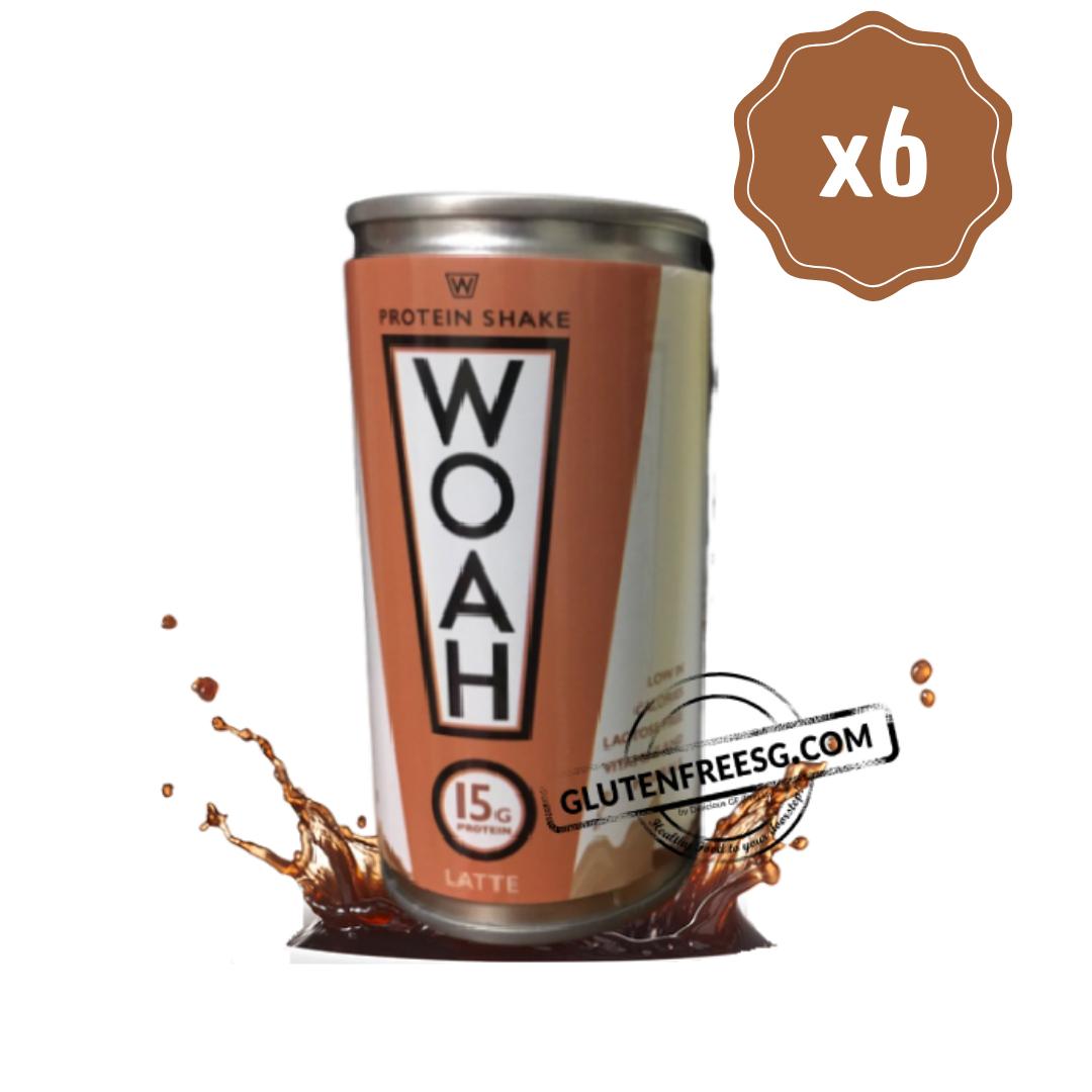 Woah! RTD Protein Shake Latte