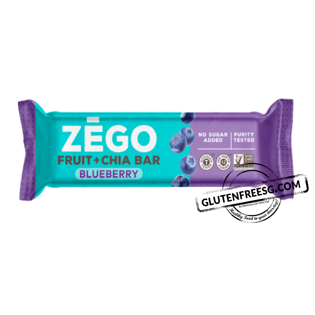 ZEGO Fruit & Chia Bar Blueberry