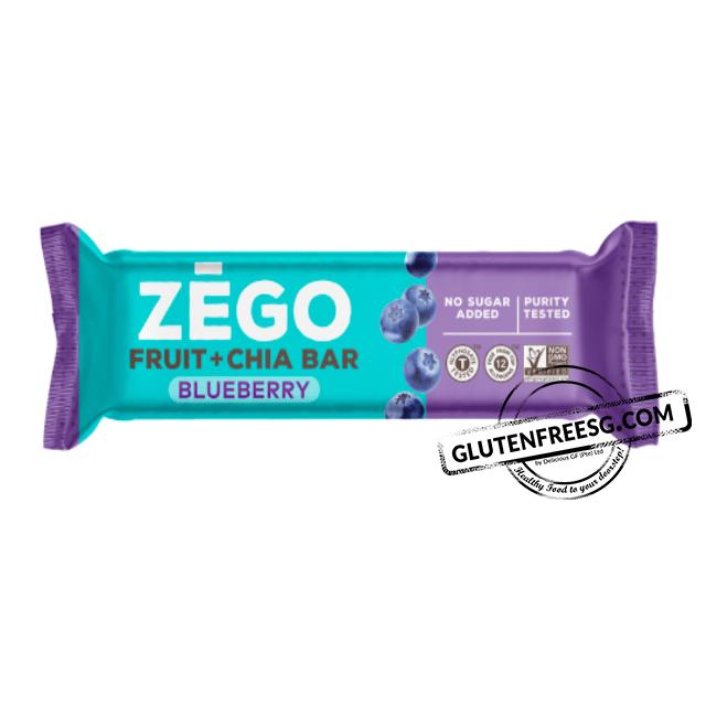 ZEGO Fruit & Chia Bar Blueberry