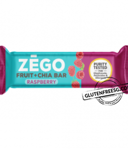 ZEGO Fruit & Chia Bar Raspberry