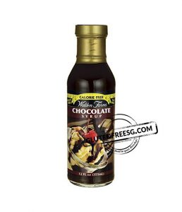 Calorie Free Chocolate Syrup