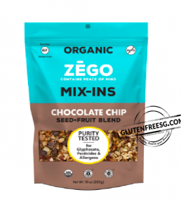 ZEGO Seed + Fruit Choc Chip Blend Mix-Ins