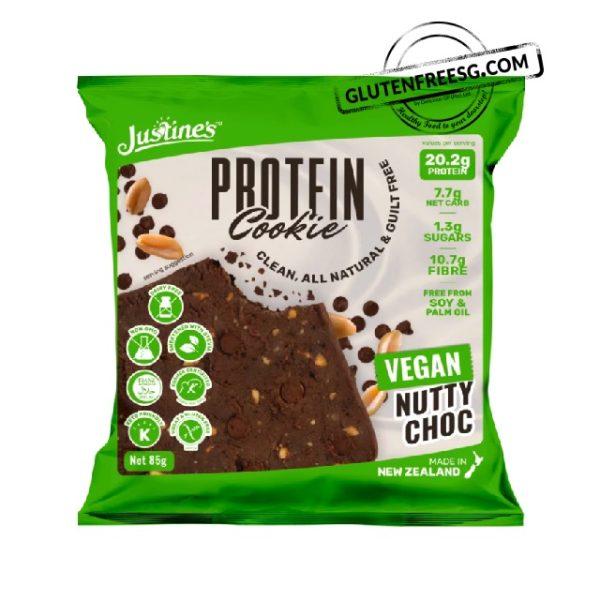 Justine's Vegan Nutty Choc Cookies