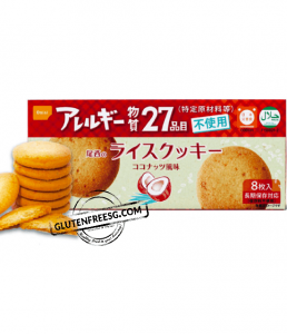 Japanese Vegan and Halal Coconut Cookies