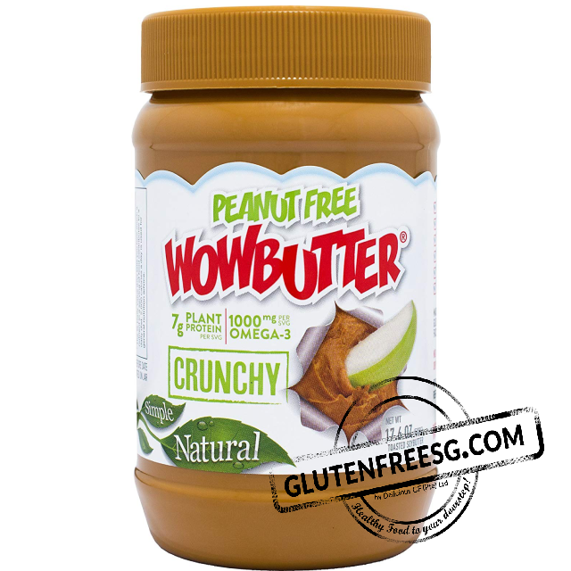 Wowbutter No Peanut Crunchy
