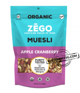 ZEGO Muesli Apple Cranberry