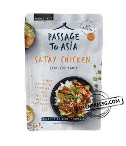Passage Foods Satay Chicken Stir Fry Sauce