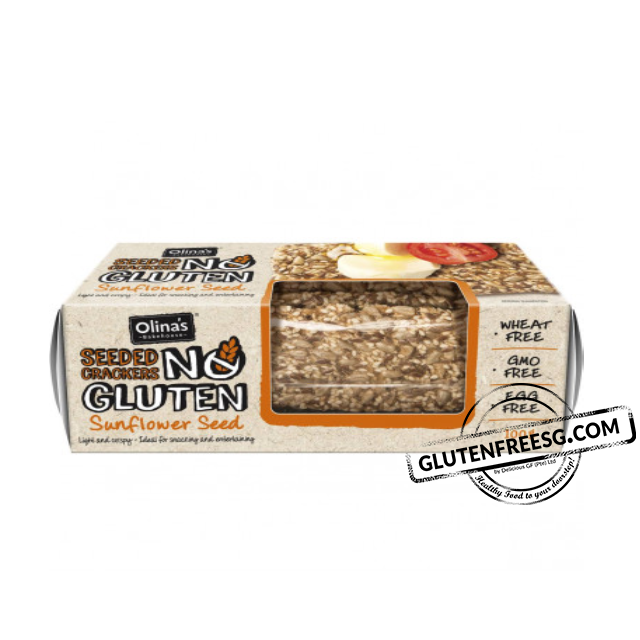 Olina's Gluten Free Sunflower Seed Cracker