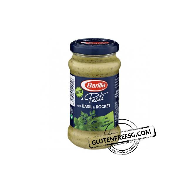 Barilla Pesto With Basil & Rocket 190g