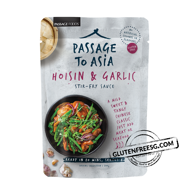 Passage Foods Hoisin & Garlic Stir Fry Sauce