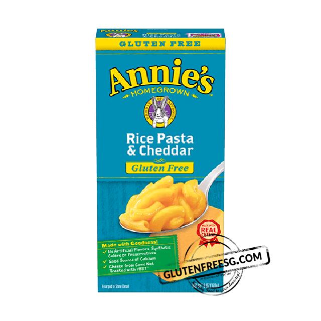 Annie's Gluten Free Rice Pasta & Cheddar
