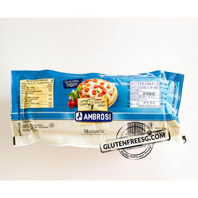 Ambrosi Mozzarella Block Frozen 1 Kg