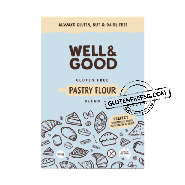 Well & Good Gluten Free Pastry Flour 400g