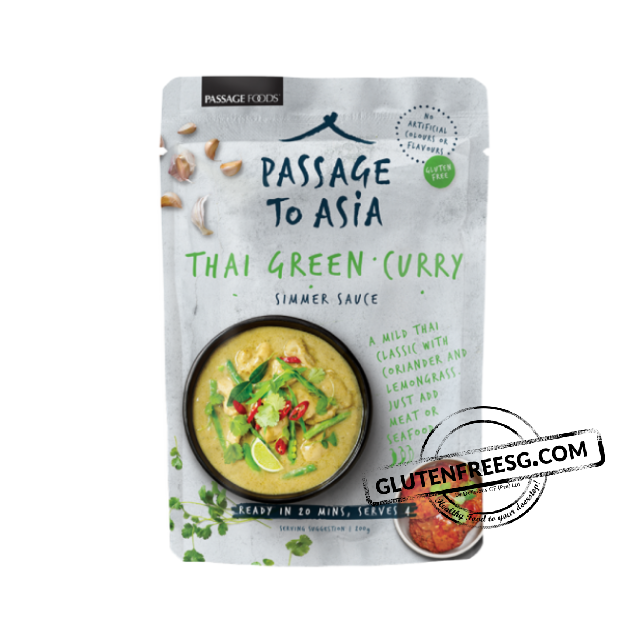 Passage Foods Green Thai Curry Simmer Sauce