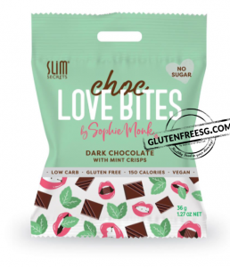 Slim Secrets Dark Chocolate With Mint Crisps 36g