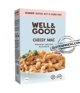Well & Good Vegan Cheesy Mac - Smokin' Bacon