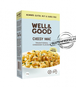 Well & Good Vegan Cheesy Mac - Traditional Cheddar 110g
