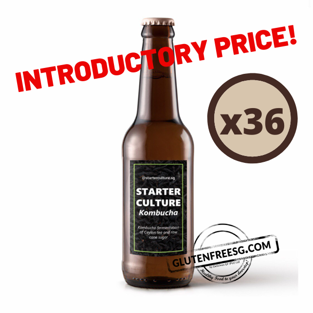 Starter Culture Ceylon Tea Kombucha 300ml