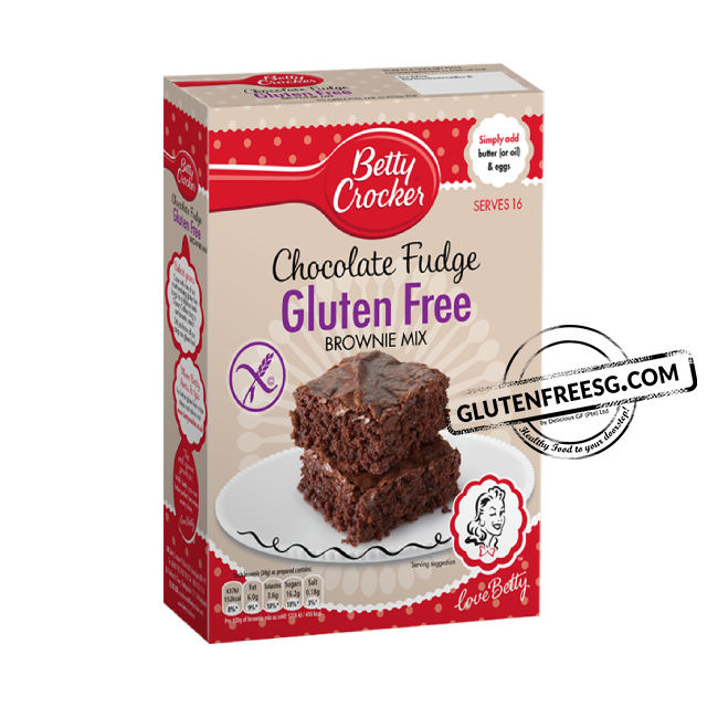Betty Crocker Gluten Free Chocolate Brownie Mix