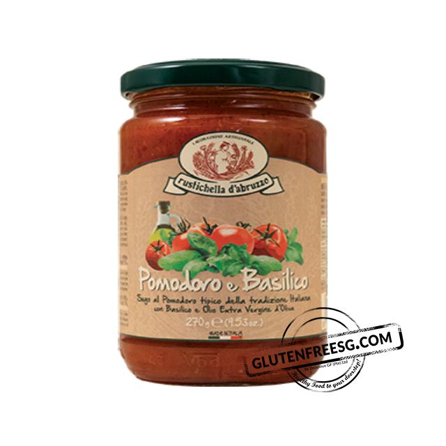 Rustichella Tomato and Basil Sauce 270g