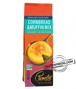 Pamela's Gluten Free Cornbread & Muffin Mix 340g