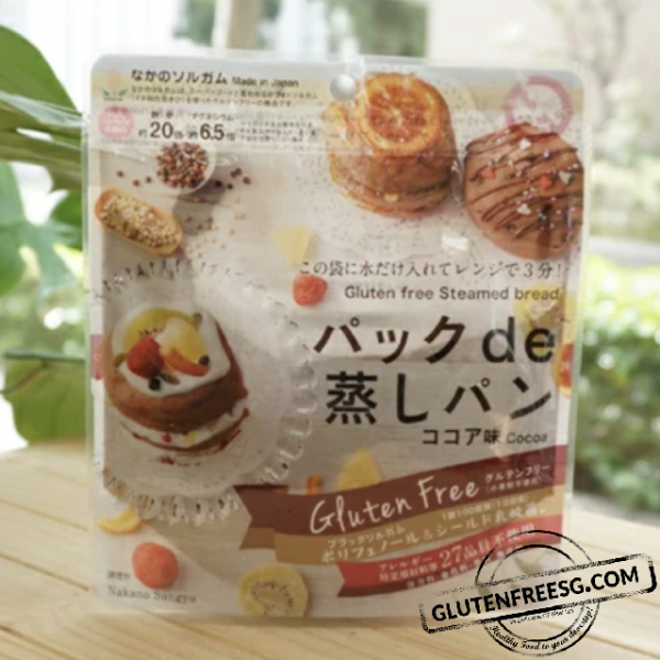 Japanese Cocoa Steamed Bread Mix 80g