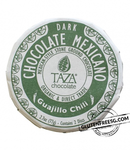 Taza Organic Chocolate Mexicano Guajilo Chili 77g