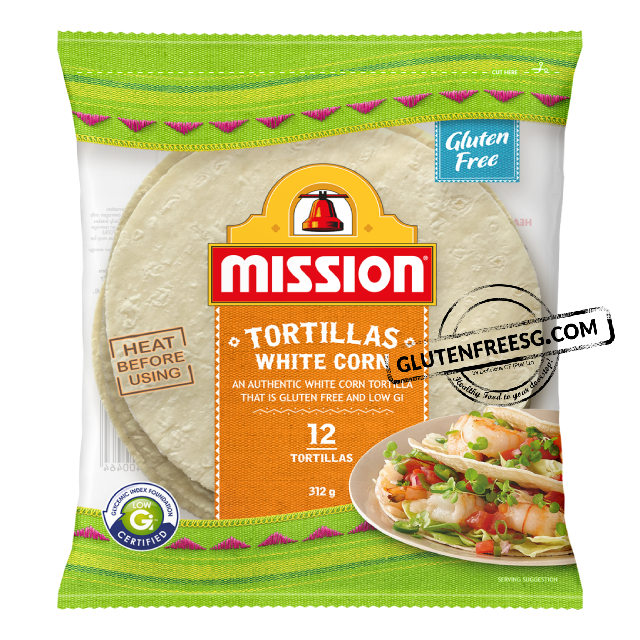 Mission White Corn Tortillas 312g