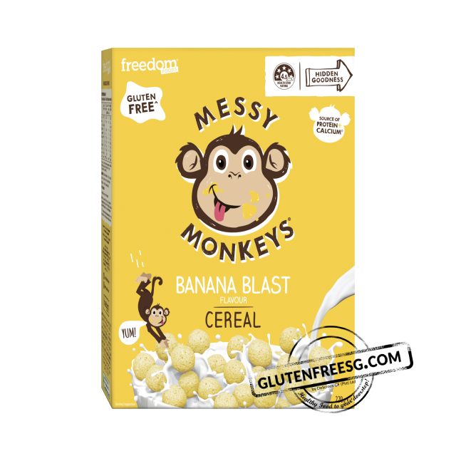 Freedom Foods Messy Monkeys Banana Blast Cereal 240g