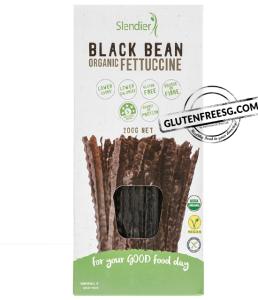 Slendier Black Bean Organic Fettuccine 200g