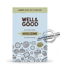 Well & Good Gluten Free Wholesome Flour 500g