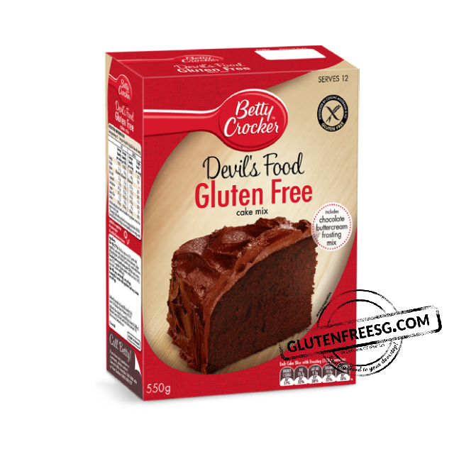 Betty Crocker Gluten Free Devil's Food Cake Mix 550g