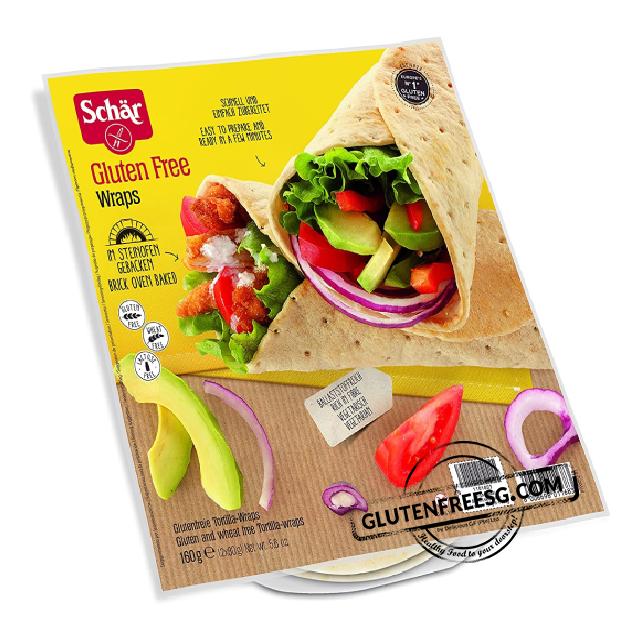 Schär Gluten Free Wraps 160g