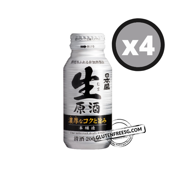 Japanese Sheng Sake 4 x 200ml