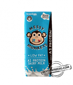 Messy Monkeys A2 Protein Low Fat Milk